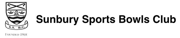 Sunbury Sports Bowls Club